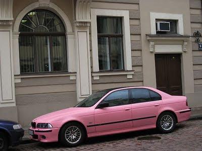 Pink BMW
