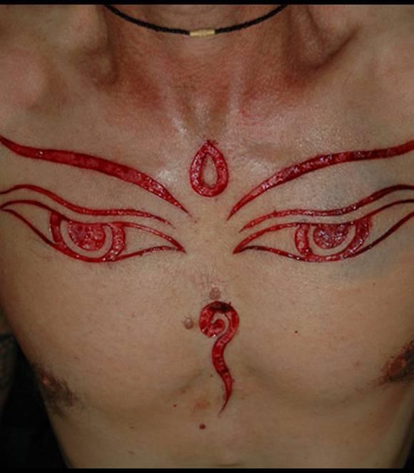 scarification tattoo. Scarification Tattoos