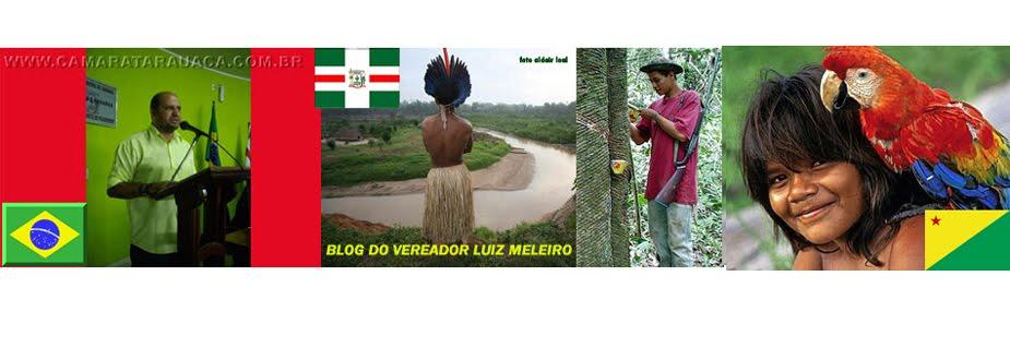 Blog do Vereador Luiz Meleiro