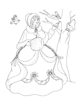 princesses coloring sheet. This is a good coloring page