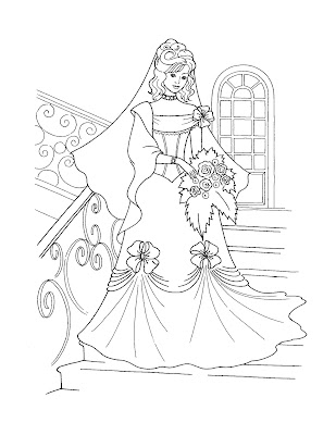 princesses coloring pages to print. This young princess looks like