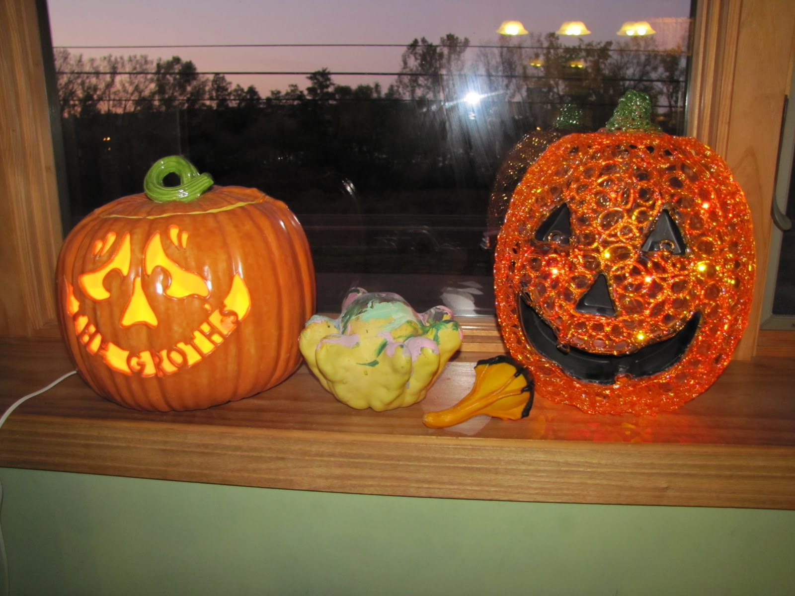 Sustainably Chic Designs More Halloween Decorating Pumpkin Makeovers