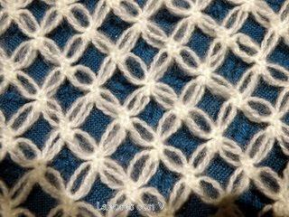 chal blanco - Un chal tejido a crochet en hilo color blanco Chal+de+dolores+002