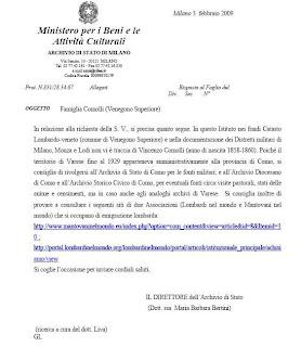 Respuesta Archivo de Milán