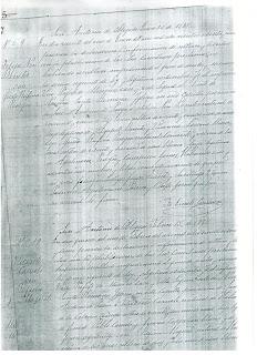 Copia del Libro Parroquial