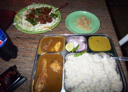 Kim 39 s reviews for eating out across the globe assam food for Assamese cuisine in delhi