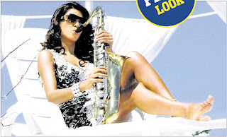 Sushmita at pool side