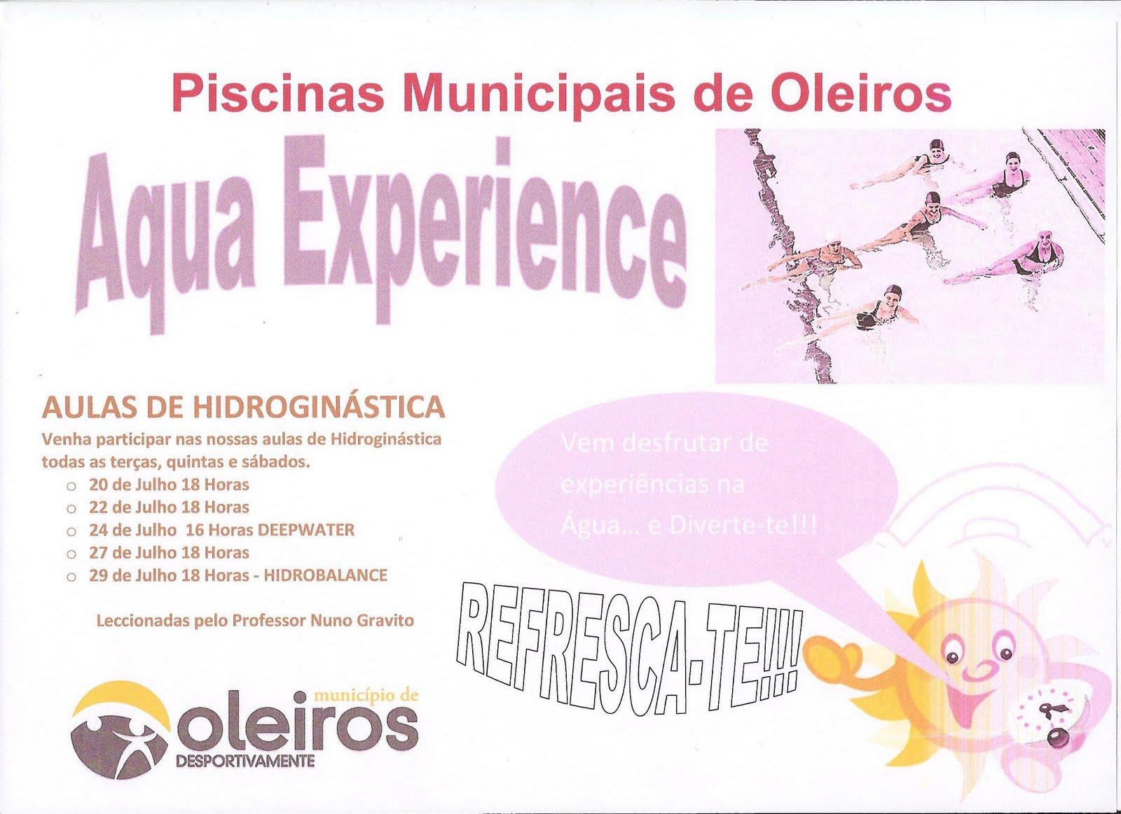 Piscinas municipais de oleiros 07 01 2010 08 01 2010 for Piscina municipal oleiros