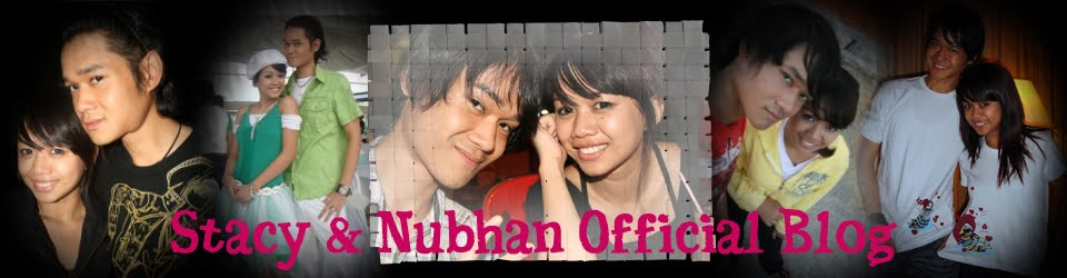 Stacy & Nubhan Official Blog