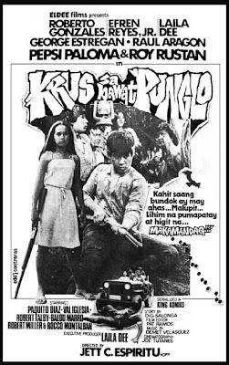 Left- Krus sa Bawa't Punglo (1982)- Stars Roy Rustan, Pepsi Paloma