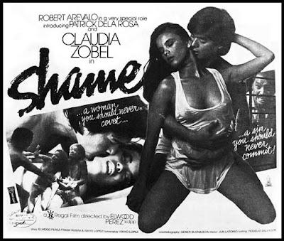 Shame (1983)- Stars Robert Arevalo, Patrick dela Rosa and Claudia