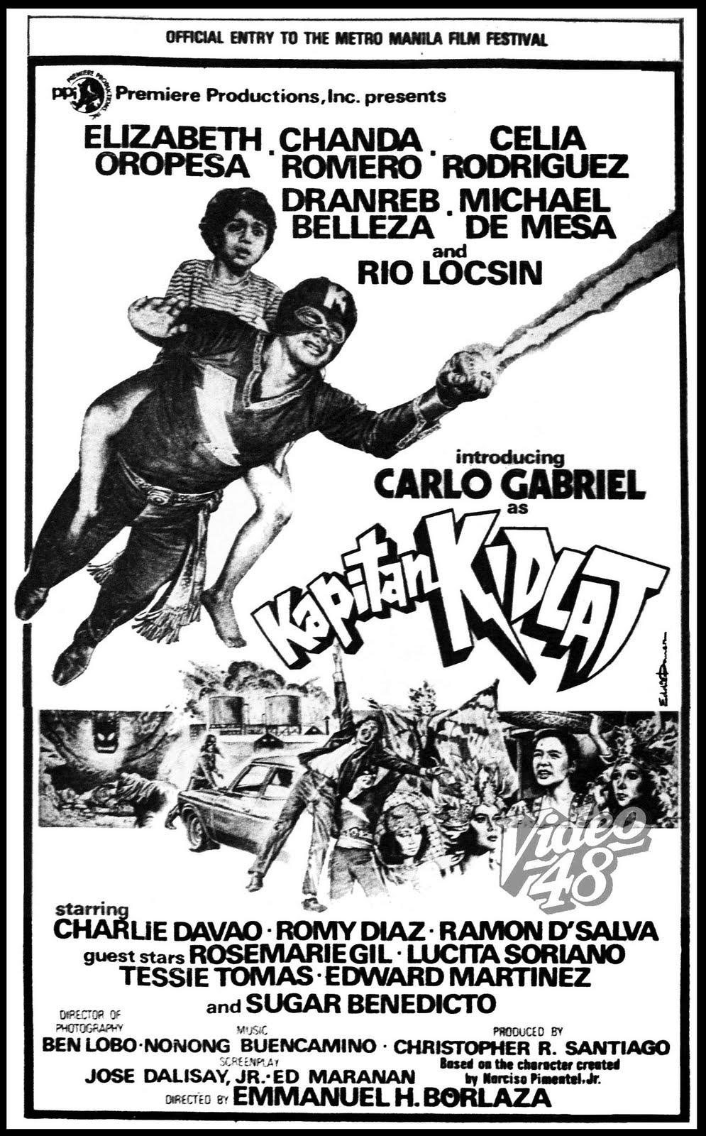 Kapitan Kidlat   1981   Stars Elizabeth Oropesa  Chanda Romero  Celia