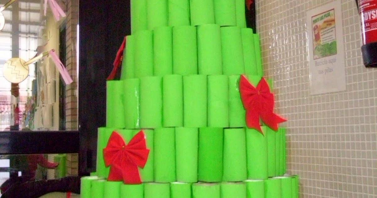 Los soletes del quijote nuestro arbol de navidad - Arbol de navidad hecho en casa ...