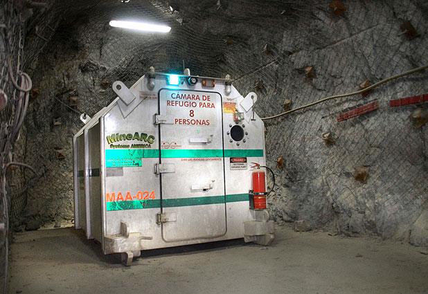 En etapa experimental búnker antisísmico en la gran minería