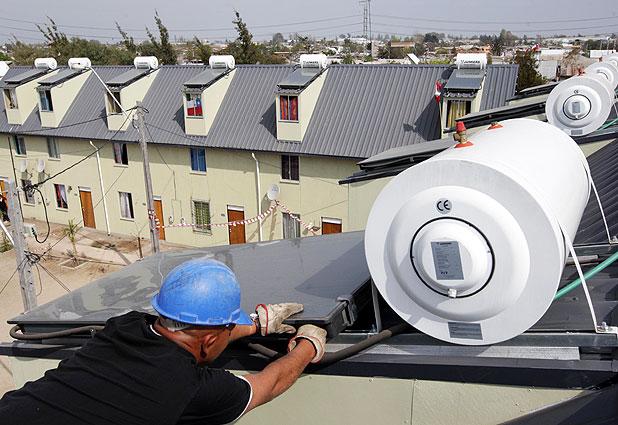 Inédito plan de viviendas ecológicas en Lo Espejo