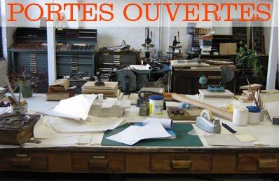 Atelier papier plomb portes ouvertes gycouture design - Atelier chardon savard portes ouvertes ...