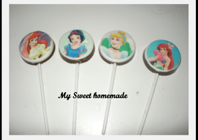 Lollichoc Edible - Disney princess