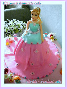 Barbie - Fondant Cake 1