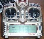 FF10 zender in gebruik .