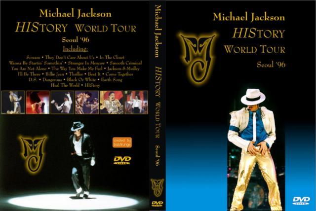 Michael Jacklson History Tour Live En Seoul 395593801