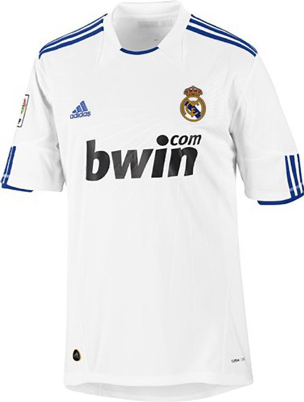 equipaciones de futbol del real madrid
