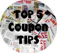 top 5 coupon tips