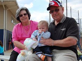 Oakley with Papaw and Nana