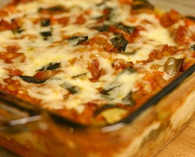 Gluten-free red lentil and vegetable lasagna/lasagne recipe - Eat this ...