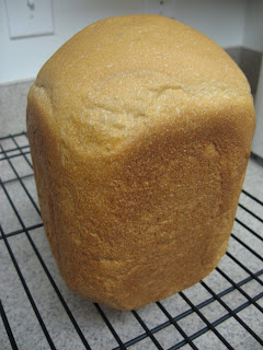 100% Whole Wheat Bread adapted from King Arthur Flour