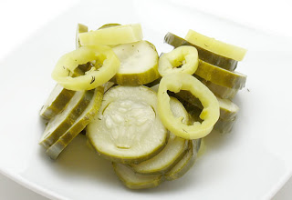 recipe for refrigerator pickles and banana peppers