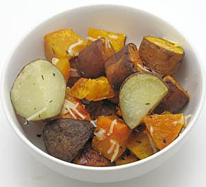recipe for roasted with white potatoes and butternut squash