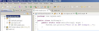 How to integrate ANT tool with Eclipse IDE?