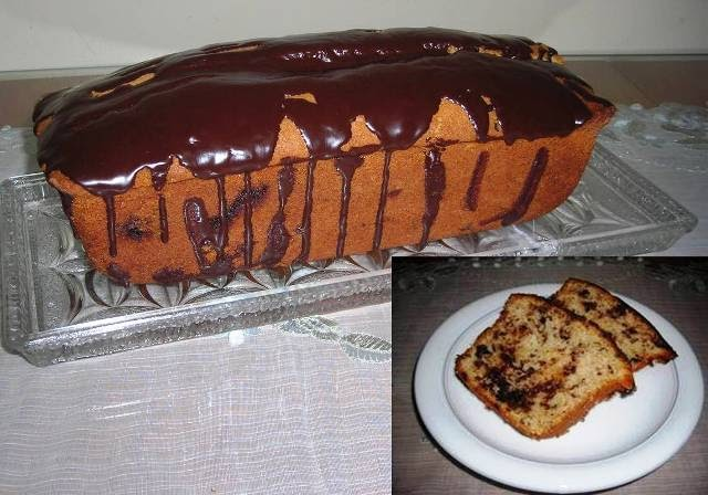 Çikolata Damlalı Kek