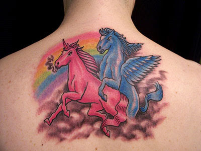 Bike Jerks: Unicorn Tattoos