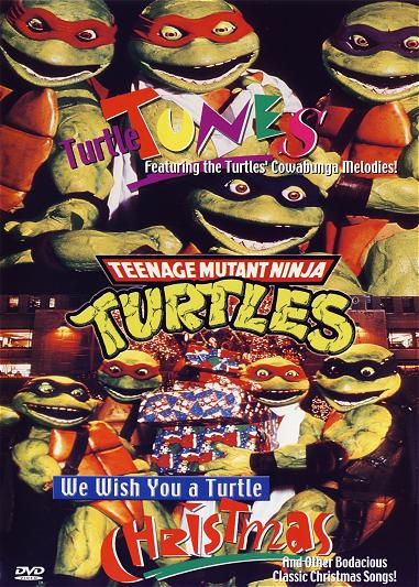 TMNT Flashback We Wish You A Turtle Christmas