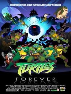 Filme Poster Tartarugas Ninja - Para Sempre DVDRip RMVB Legendado