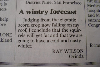 A wintry forecast 