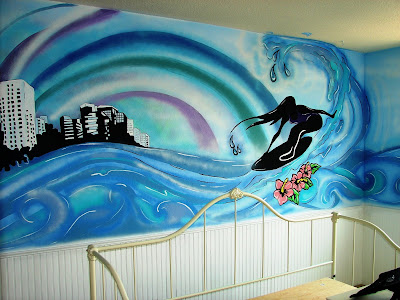 Beach bedroom ideas for girls on pinterest surfer girls for Surfers bedroom design