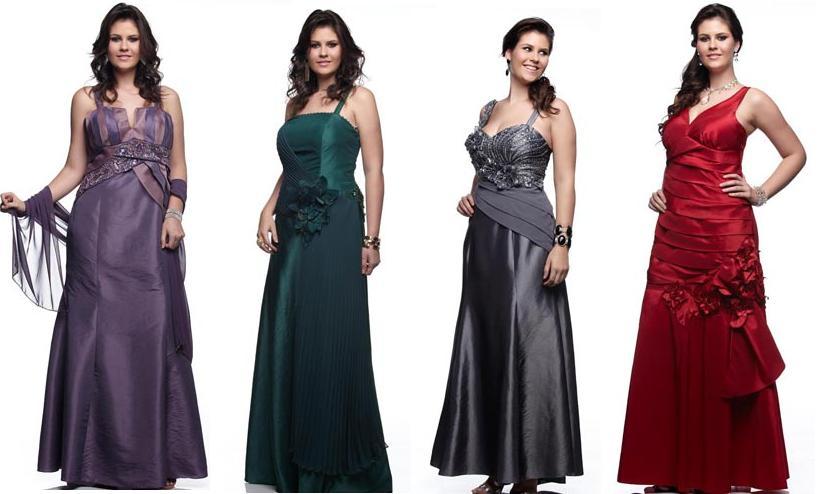 Linda GG: Vestidos de Festa Plus Size- Sonia Baek