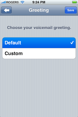 how to set up voicemail on iphone 6 cricket