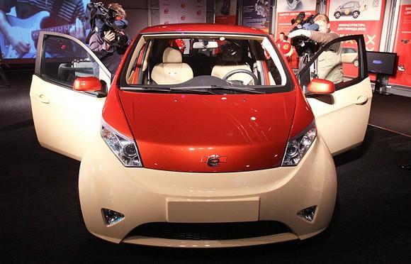 Autos eco friendly mobile rusia lanza sus primeros for Motores y vehiculos nj