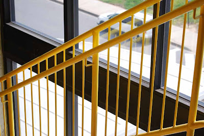 Wrought Iron Railings For Your Lovely Home Home And Furnitures  Yellow stairs railing imagenesdecarrosdeportivos com