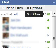 facebook chat invisible status