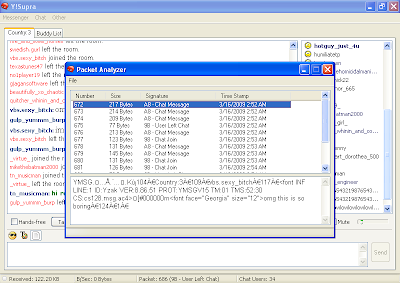 YSupra Packet Analyzer