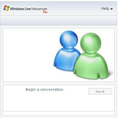 Windows Live Messenger on FaceBook