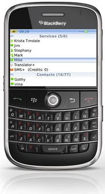 im+ for blackberry