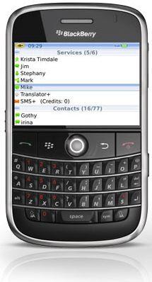 im+ for blackberry