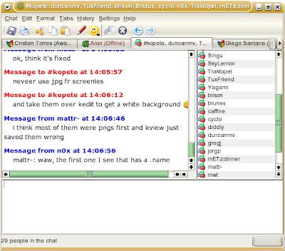 instant messenger chat rooms general