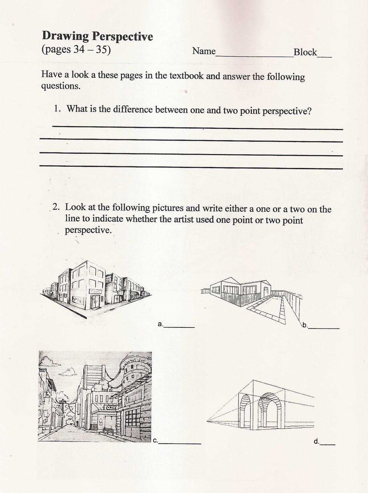 handouts and worksheets perspective handout oct 4 7. Black Bedroom Furniture Sets. Home Design Ideas