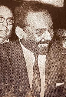 """Esmeraldo Tarquínio foi eleito prefeito pelo MDB (1968), foi cassado pelos Militares 2 dias antes de assumir o cargo. Seu """"crime"""": ser do MDB"""